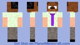 Piemations: It be the Night Guard! Minecraft Skin