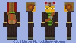 [Psychonauts] Raz Minecraft Skin