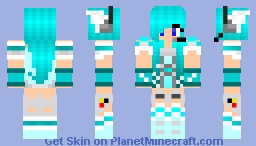 Robot Person V2 Minecraft Skin