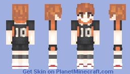 shouyou hinata // haikyuu!! Minecraft Skin