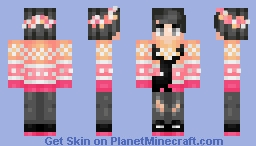 sυηsεт sιℓнσυттε Minecraft Skin