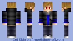 Blue Zyper Skin Minecraft Skin