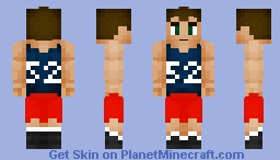OMG It Is ME -OC- {No Joking It's Real Me} (Basketball Uniform) _Better In 3-D_ Minecraft Skin