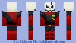 Underfell - Papyrus Minecraft Skin