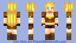 Yang Xiao Long Minecraft Skin