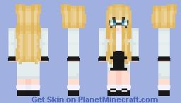 Alphys Inspired Minecraft Skin