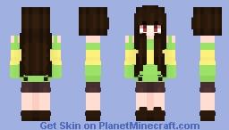 Chara Inspired Minecraft Skin