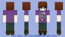 For FloriePie Minecraft Skin