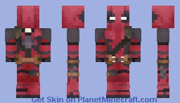 Deadpool (Movie) UPDATED! Minecraft Skin