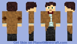 Eleventh Doctor (Doctor Who) Minecraft Skin