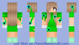 Forest Dryad Minecraft Skin