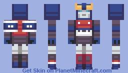 Smokescreen Minecraft Skin