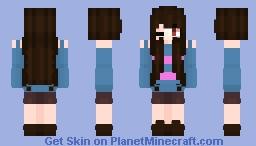 Frisk inspired Minecraft Skin