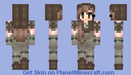 Thief Huntress Minecraft Skin