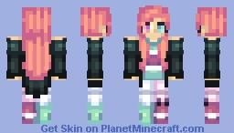 ♫♠ Abandon3dRain♫♠  Stripes Minecraft Skin
