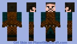 John Snow S6 Stark Costume Minecraft Skin