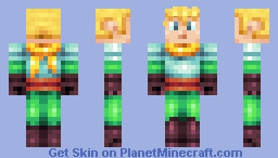 Young Adventurer Minecraft Skin