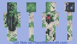Broken/Antique Mannequin Minecraft Skin