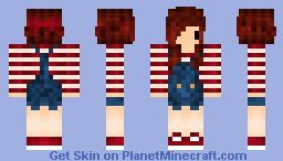 Chibi Girl Minecraft Skin