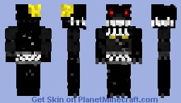 Fnaf4 skin nightmare Minecraft Skin