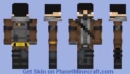 Division Agent Minecraft Skin