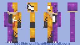 Foxy Dragon [CSC contest] Minecraft Skin