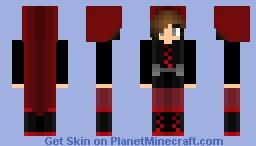 RWBY ~ Ruby Rose Minecraft Skin