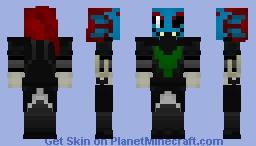 Undyne the Undying (Undertale) Minecraft Skin