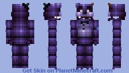 FNaF World Shadow Freddy Minecraft Skin
