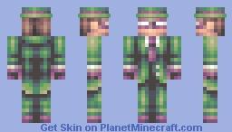 The Riddler (3-way skin battle with PureNerd and Allergy_Man) Minecraft Skin