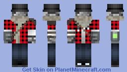 Rock Man Minecraft Skin