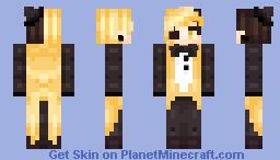 Bill cipher ;v; Minecraft Skin