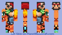 Charmandario (Check Desc) Minecraft Skin