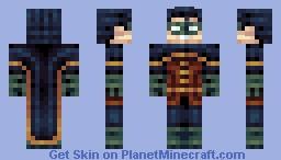 """""""Holy unoriginal skin, Batman!""""  - Three-way Skin Battle Minecraft"""