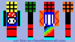 Rubix Pixel [Retro Skin Contest Entry] Minecraft Skin