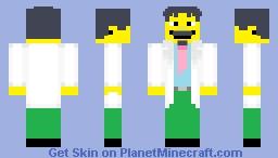 Dr. Nick Riviera (The Simpsons) Minecraft Skin