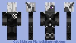 Drow/Dark Elf Minecraft Skin
