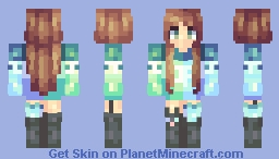 Imaginary Minecraft Skin