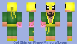 Iron Fist Minecraft Skin