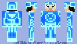 Kevin Flynn - Normal/Tron clothes Minecraft Skin