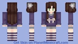 ❥ I'm not dead! // Read description Minecraft Skin