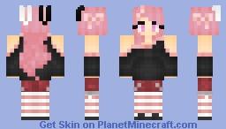 OC | Milkshake Bunnie Minecraft Skin