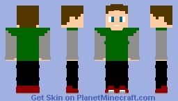 Milton Krupnick (Kickin'It) Minecraft Skin