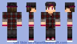 OC | IRL Reference | Flannel Minecraft Skin