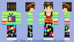 Contest | Rave Animal Minecraft Skin