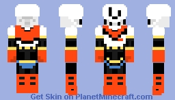 Undertale - Papyrus Minecraft