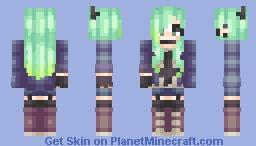 =-「αѕнe」-= Pastel Goth? /Contest Entry POPREEL Minecraft