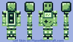 [RETRO: FINALIST #13] Game Boy Minecraft Skin