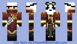 Steampunk Panda Minecraft Skin