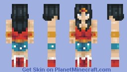 Wonder Woman! [Retro Skin Contest] Minecraft